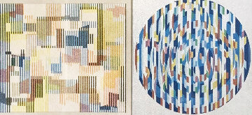 Message of Peace 1980 Limited Edition Print by Yaacov Agam
