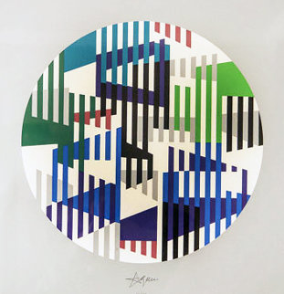 Jazz Series 1993 Limited Edition Print by Yaacov Agam