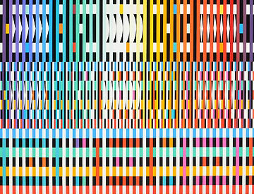Thanksgiving 2001 Limited Edition Print by Yaacov Agam