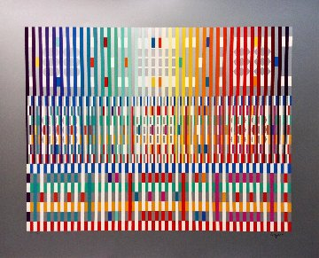 Blessing Light  Limited Edition Print by Yaacov Agam