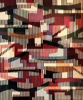 Untitled Monotype Unique  42x38 Limited Edition Print by Yaacov Agam - 0