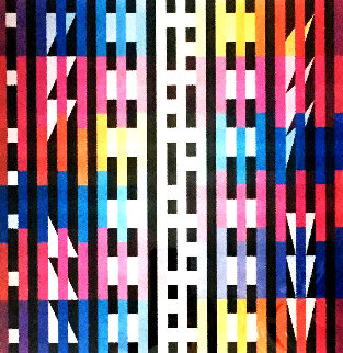 Rapport 2005 Agamograph w Lens Limited Edition Print - Yaacov Agam