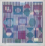 Four Seasons A/B/D Agamograph 2005  Limited Edition Print by Yaacov Agam - 2