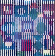 Four Seasons A/B/D Agamograph 2005  Limited Edition Print by Yaacov Agam - 0