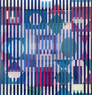 Four Seasons A/B/D Agamograph 2005  Limited Edition Print - Yaacov Agam