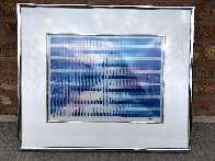 Then and Now Agamograph 1990 Sculpture by Yaacov Agam - 1