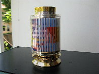 Kiddush Cup, Silver Sculpture 5 in Sculpture by Yaacov Agam - 4
