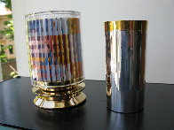 Kiddush Cup, Silver Sculpture 5 in Sculpture by Yaacov Agam - 1
