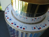 Kiddush Cup, Silver Sculpture 5 in Sculpture by Yaacov Agam - 6