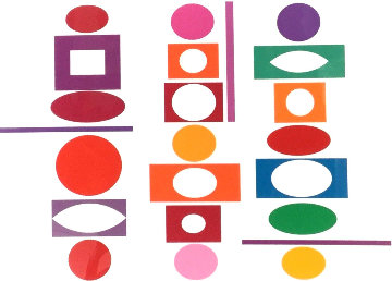 Inter-Image   Limited Edition Print - Yaacov Agam