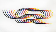 Lines and Forms  Suite of 4 1982  Limited Edition Print by Yaacov Agam - 0