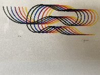 Lines and Forms  Suite of 4 1982  Limited Edition Print by Yaacov Agam - 3