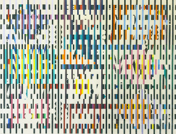 Pace of Time 1987 Limited Edition Print - Yaacov Agam