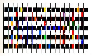 Untitled Suite I 1980 Limited Edition Print - Yaacov Agam