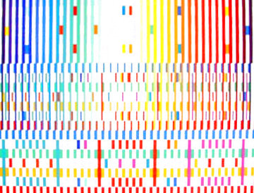Blessing (Light) Limited Edition Print - Yaacov Agam