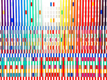 Blessing (Dark) Limited Edition Print - Yaacov Agam