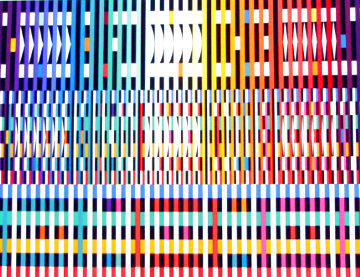 Thanksgiving (Light) Limited Edition Print - Yaacov Agam