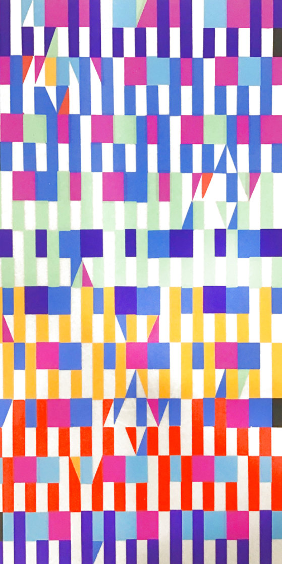 Untitled Lithograph Limited Edition Print by Yaacov Agam