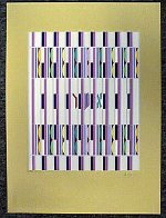Asher, 1 of the 12 Tribes Agamograph Sculpture by Yaacov Agam - 1