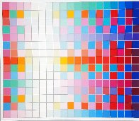 Square Wave AP Limited Edition Print by Yaacov Agam - 1