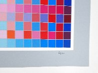 Square Wave AP Limited Edition Print by Yaacov Agam - 4