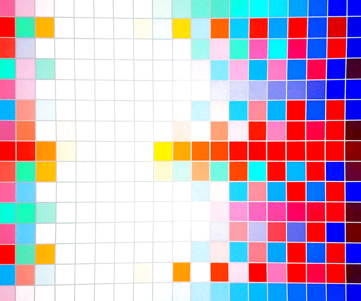 Square Wave AP Limited Edition Print by Yaacov Agam