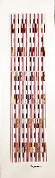 Vertical Orchestration HC 1979 Limited Edition Print by Yaacov Agam - 1