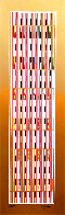 Vertical Orchestration III 1979 Limited Edition Print by Yaacov Agam - 0