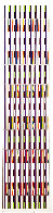 Vertical Orchestration IV 1979 Limited Edition Print by Yaacov Agam - 0