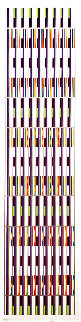 Vertical Orchestration IV 1979 Limited Edition Print - Yaacov Agam