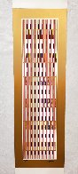 Vertical Orchestration VI 1979 Limited Edition Print by Yaacov Agam - 1