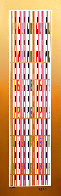 Vertical Orchestration VI 1979 Limited Edition Print by Yaacov Agam - 0