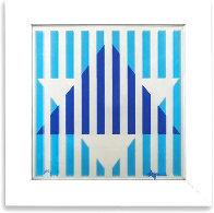 Star of David Limited Edition Print by Yaacov Agam - 1
