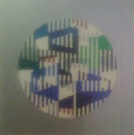 Silver Circle Limited Edition Print by Yaacov Agam - 1