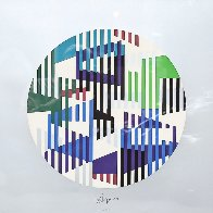 Silver Circle Limited Edition Print by Yaacov Agam - 0