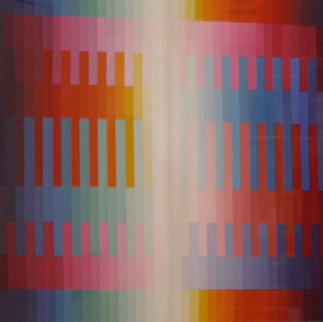 Magic Rainbow 1981 Limited Edition Print - Yaacov Agam