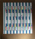 12 Tribes of Israel Gaad and Levi Agamograph 1981 Sculpture by Yaacov Agam - 1