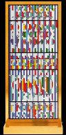 Shalom Window 1982 Limited Edition Print by Yaacov Agam - 0