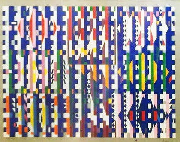 Magic Time 1980 Limited Edition Print - Yaacov Agam