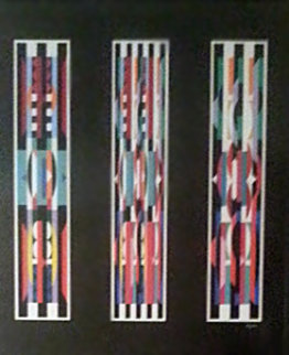 Three in One, Suite of 3 1987: Serigraphs Limited Edition Print - Yaacov Agam