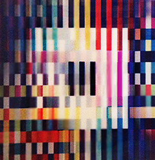 Creation of Time, Agamograph From the 8 Piece Big Bang Series  1991 Sculpture - Yaacov Agam