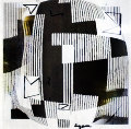 Black And White Agamograph Painting 2002 31x31 Sculpture - Yaacov Agam
