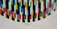 Message of Peace 1980 Limited Edition Print by Yaacov Agam - 2