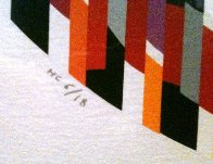Message of Peace 1980 Limited Edition Print by Yaacov Agam - 3