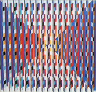 Hope  viewed through lens 2007 20x20 Limited Edition Print - Yaacov Agam