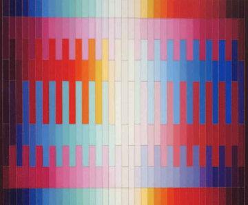 Magic Rainbow 1981 Limited Edition Print by Yaacov Agam