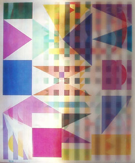 Yucatan Mystery Agamograph 1990 Sculpture by Yaacov Agam