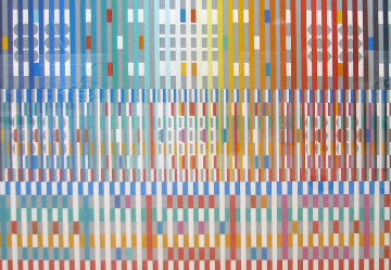 Blessing Limited Edition Print by Yaacov Agam