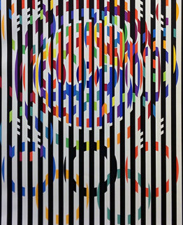 Message of Peace 1988 Limited Edition Print - Yaacov Agam