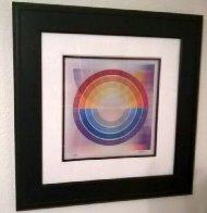 Holo Agamograph Rainbow Flag 2007 Sculpture by Yaacov Agam - 0